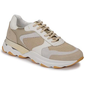Sko Dame Lave sneakers Lumberjack SWAY Beige / Hvid
