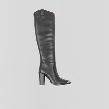 Sko Dame Chikke støvler Bronx Bottes femme  New-Americana noir