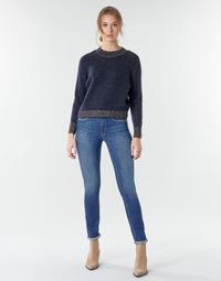 textil Dame Lige jeans Le Temps des Cerises PULP HIGHREG Blå / Lys