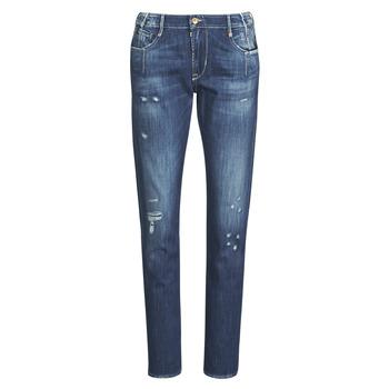 textil Dame Jeans - boyfriend Le Temps des Cerises 200/43 LIOR Blå