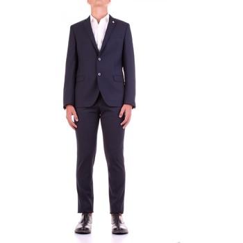 textil Herre Jakkesæt Manuel Ritz 2932A3318-203554 Blu