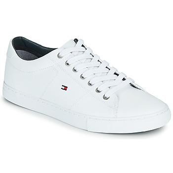 Sko Herre Lave sneakers Tommy Hilfiger ESSENTIAL LEATHER SNEAKER Hvid