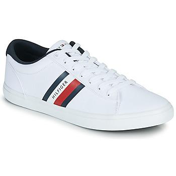 Sko Herre Lave sneakers Tommy Hilfiger ESSENTIAL STRIPES DETAIL SNEAKER Hvid
