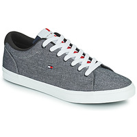 Sko Herre Lave sneakers Tommy Hilfiger ESSENTIAL CHAMBRAY VULCANIZED Grå