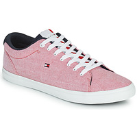 Sko Herre Lave sneakers Tommy Hilfiger ESSENTIAL CHAMBRAY VULCANIZED Pink