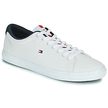 Sko Herre Lave sneakers Tommy Hilfiger ESSENTIAL CHAMBRAY VULCANIZED Hvid