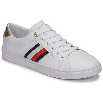 Sko Dame Lave sneakers Tommy Hilfiger TH CORPORATE CUPSOLE SNEAKER Hvid