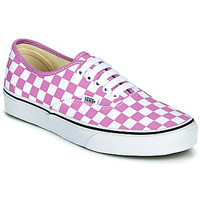 Sko Dame Lave sneakers Vans AUTHENTIC Lilla