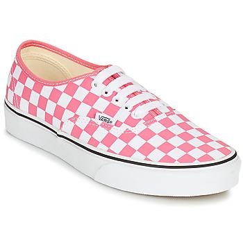 Sko Dame Lave sneakers Vans AUTHENTIC Pink