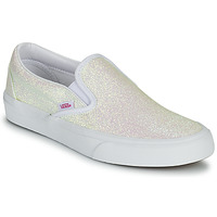 Sko Dame Slip-on Vans CLASSIC SLIP ON Glitter / Beige / Pink