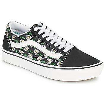 Sko Dame Lave sneakers Vans COMFYCUSH OLD SKOOL Sort / Hvid