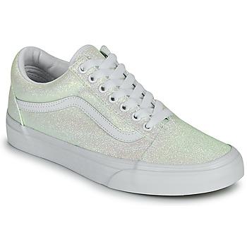 Sko Dame Lave sneakers Vans OLD SKOOL Hvid
