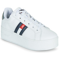 Sko Dame Lave sneakers Tommy Jeans IRIDESCENT ICONIC SNEAKER Hvid