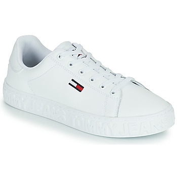 Sko Dame Lave sneakers Tommy Jeans COOL TOMMY JEANS SNEAKER Hvid