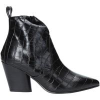 Sko Dame Høje støvletter Grace Shoes 7241007 Sort