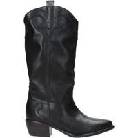 Sko Dame Høje støvletter Grace Shoes 544101 Sort