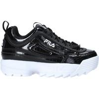 Sko Børn Sneakers Fila 1011081 Sort
