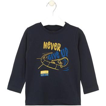 textil Børn T-shirts & poloer Losan 025-1635AL Blå