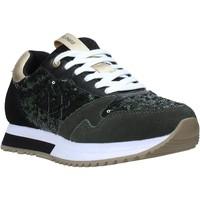 Sko Dame Sneakers Sun68 Z40224 Grøn