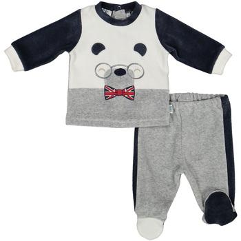 textil Børn Jakkesæt og slips Melby 20Q0890 Grå