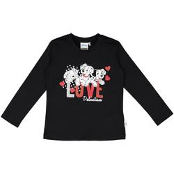 textil Børn T-shirts & poloer Melby 40C0283DN Sort