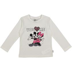 textil Børn T-shirts & poloer Melby 40C0403DN hvid