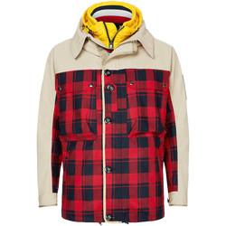 textil Herre Jakker Tommy Hilfiger MW0MW14507 Beige