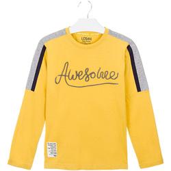textil Børn T-shirts & poloer Losan 023-1008AL Gul