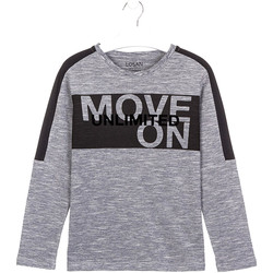 textil Børn T-shirts & poloer Losan 023-1020AL Grå
