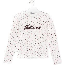 textil Børn T-shirts & poloer Losan 024-1008AL hvid