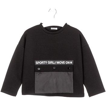 textil Børn Sweatshirts Losan 024-1015AL Sort