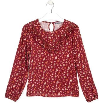 textil Børn T-shirts & poloer Losan 024-3001AL Rød