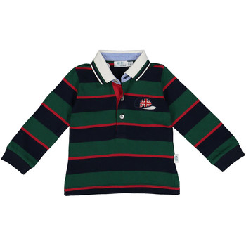 textil Dreng Polo-t-shirts m. lange ærmer Melby 20C0270 Grøn