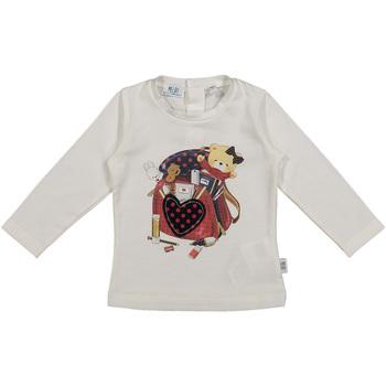 textil Børn T-shirts & poloer Melby 20C0361 hvid