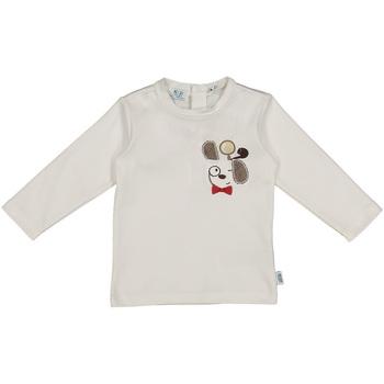 textil Børn T-shirts & poloer Melby 20C2150 hvid