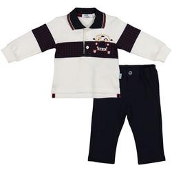textil Børn Jakkesæt og slips Melby 20K0230 Blå