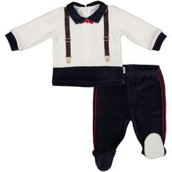 textil Dreng Sæt Melby 20Q0060 Sort