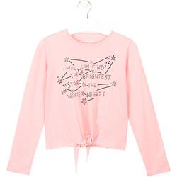 textil Børn T-shirts & poloer Losan 024-1202AL Lyserød