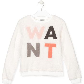 textil Børn Sweatshirts Losan 024-6021AL hvid