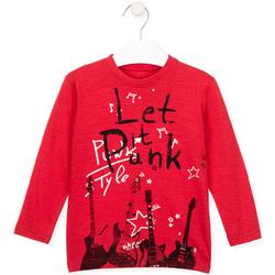 textil Børn T-shirts & poloer Losan 025-1001AL Rød