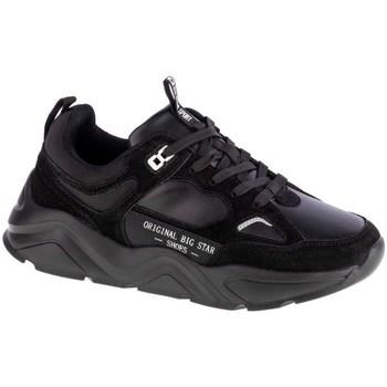 Sko Dame Lave sneakers Big Star GG274654 Sort
