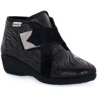 Sko Dame Høje sneakers Emanuela 2302 VOX NERO Nero