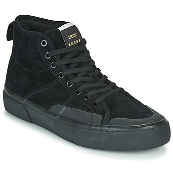 Sko Herre Høje sneakers Globe LOS ANGERED II Sort