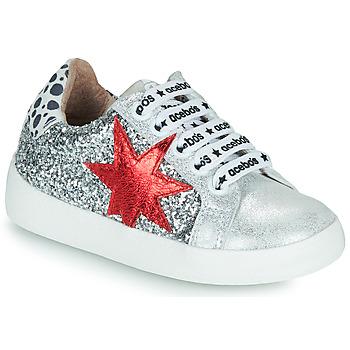 Sko Pige Lave sneakers Acebo's 5461GL-PLATA-J Sølv