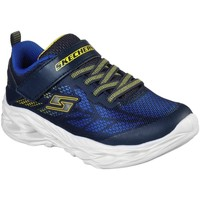 Sko Dreng Lave sneakers Skechers Vortex-flash 400030 06-0363 navy/yellow
