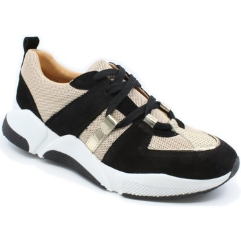 Sko Dame Lave sneakers Billi Bi 4861-422  03-0969 black/gold