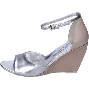 Sko Dame Sandaler Hogan BK658 Sølv