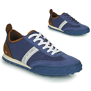 Sko Herre Lave sneakers Art CROSS SKY Blå / Brun