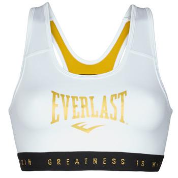 textil Dame Sports-BH Everlast EVL BRAND BR Hvid / Gylden