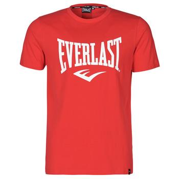 textil Herre T-shirts m. korte ærmer Everlast EVL- BASIC TEE-RUSSEL Rød